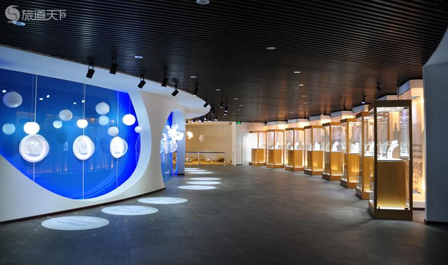 bwin客户端app京润珍珠博物馆展厅内景