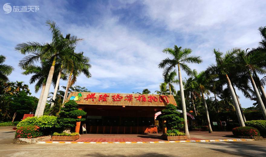 兴隆热带植物园大门口景观