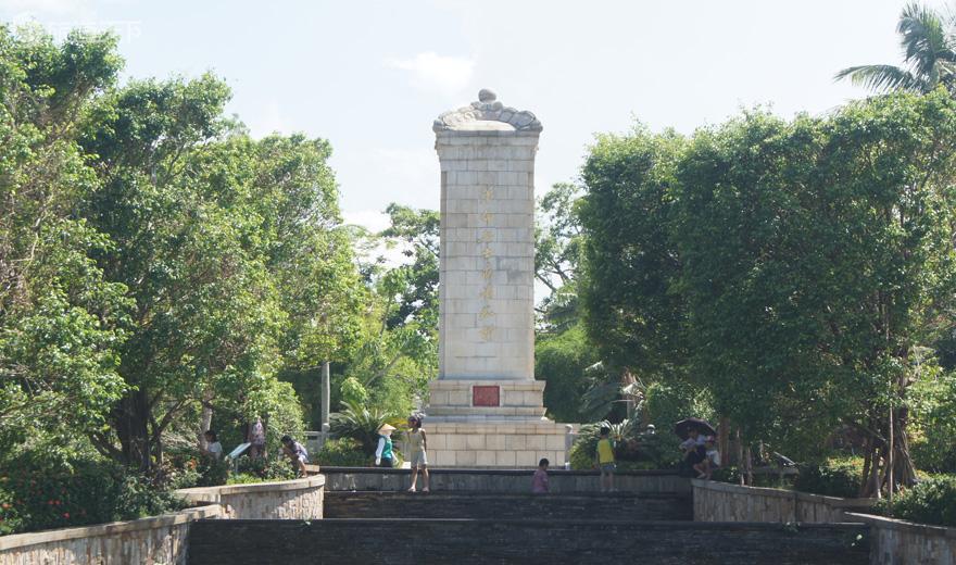 海口人民公园革命烈士永垂不朽