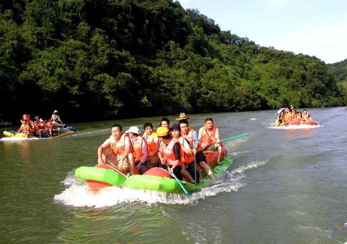 万泉河位于中国海南省海南岛东部.