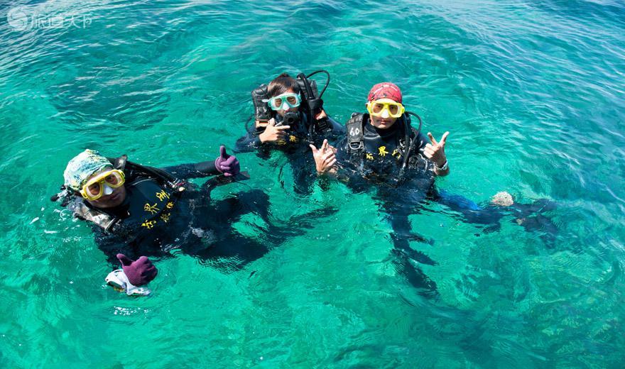 分界洲岛五彩斑斓海底世界