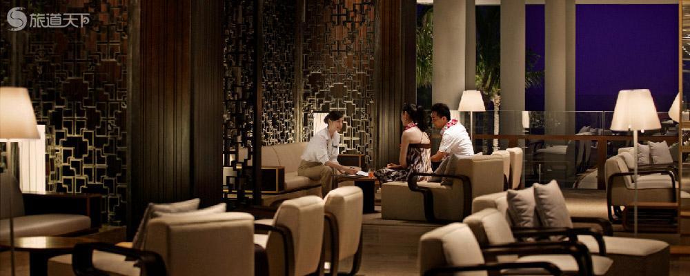 三亚半山半岛洲际度假酒店水景阁2晚,含双人自助早餐+双人1次bbq,真正