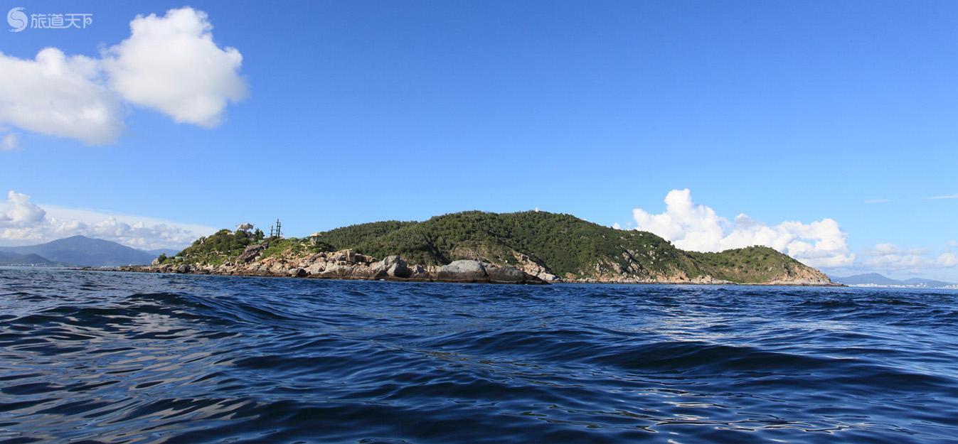 海上看西岛
