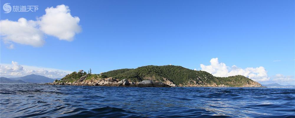 远眺牛王岛